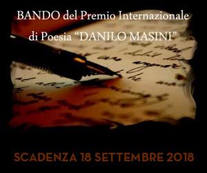 Premio Internazionale di Poesia Danilo Masini 2018