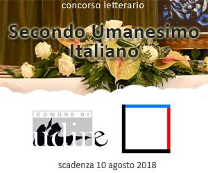 Concorso letterario Secondo Umanesimo Italiano