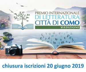 Concorso letterario Premio Città di Como 2019