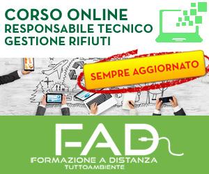 Scuola Online Responsabile Tecnico Gestione Rifiuti