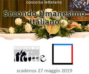 Concorso letterario Secondo Umanesimo Italiano 2019