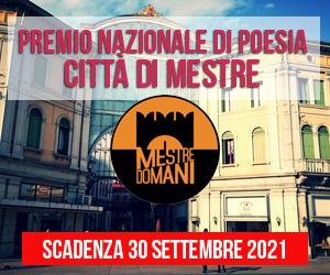 Premio Nazionale di Poesia Città di Mestre 2021