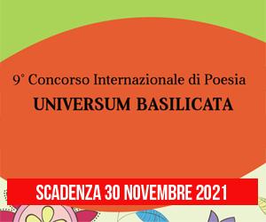 Concorso Internazionale di Poesia Universum Basilicata 2021