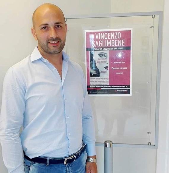 Lo scrittore Vincenzo Saglimbene
